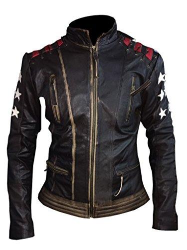 Ladies Leather Biker Jacket Sale - 7