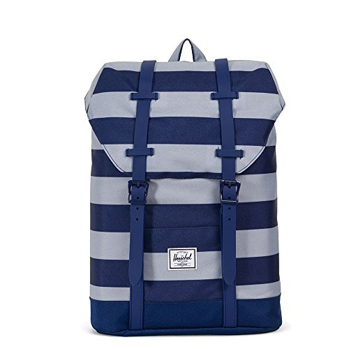 Herschel Supply Co. Retreat Youth, Quarry/Blueprint Stripe