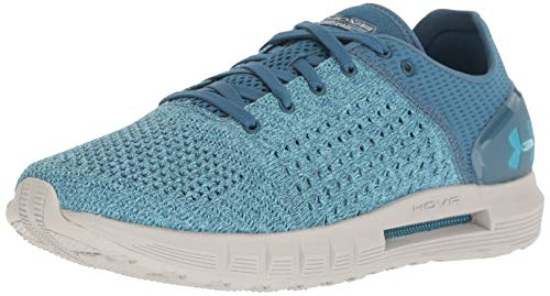 Under Armour Women's HOVR Sonic Running Shoe, Static Blue (303)/Ghost Gray, 9 (Best Running Form For Speed)