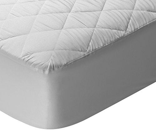 Pikolin Home - Protector de colchon/Cubre colchon acolchado, transpirable, 90x190/200cm-Cama 90 (Todas las medidas)