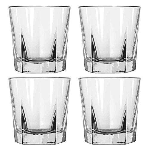 Whiskey Glasses Set of 12-12 oz Double Old Fashioned Rocks Glasses, Thick, Heavy...