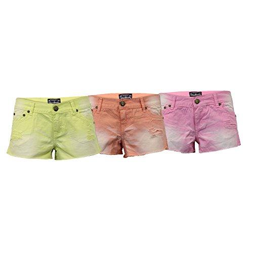 Jean Mini Tokyo Strappato Hot Donna Rosa 3y4184 Pantaloncini Nuovo Estate Sbiadito Laundry 5wEpY0qY