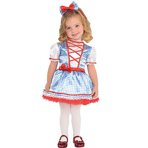 Suit Yourself Dorothy Halloween Costume for Babies, The Wizard of Oz, 12-24M with Accessories]()