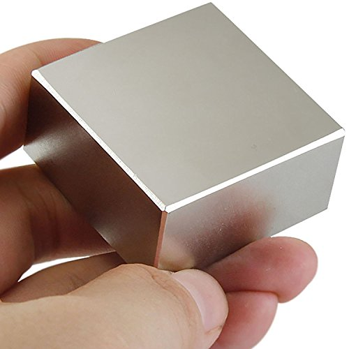 40x40x20mm Super Strong Neodymium Block Magnet, N52 Permanent Magnet Disc, The World's Strongest & Most Powerful Rare Earth Magnets - One Piece
