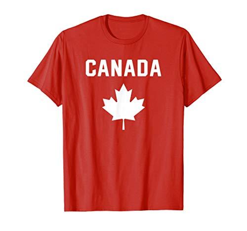 I Love Canada Minimalist Canadian Flag T-Shirt