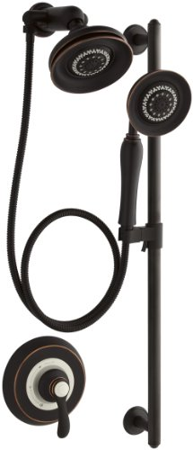 KOHLER K-10826-4-2BZ Fairfax Essentials Performance Showering Package, Oil-Rubbed Bronze ()