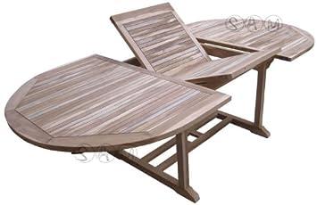 Sehr Gut XXS® Möbel Gartentisch Aruba hochwertiges Teak Holz Schirmloch in  NM14