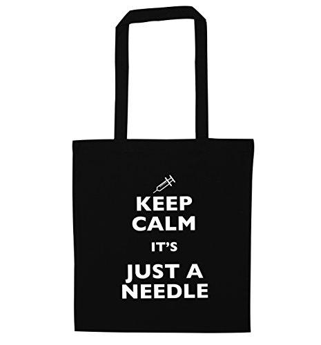 calm Creative Keep a it's bag Flox tote Black needle just dFZPn6W8q
