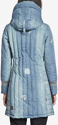 2 Hr4 Denim D'hiver Femme 1128jk183 Manteau Jerry Prime Pour Print Khujo pnwOEqH8Tx