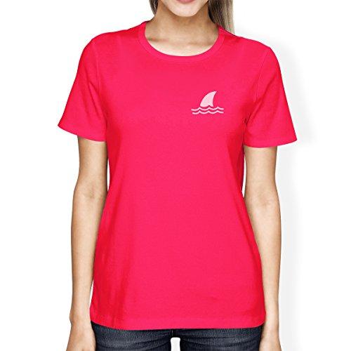 Printing Shirt Courtes Femme 365 Mini Pink Manches shirt Hot T Shark dvxqUO