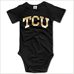 new photos 3c07e ab432 Amazon.com: Tcu Horned Frogs Gold Style Logo Kids Baby ...