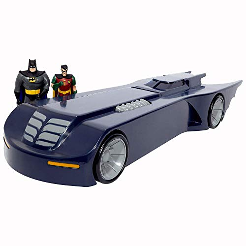 Model Batmobile - NJ Croce Batmobile with Bendable Batman and Robin Figures Vehicle