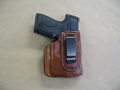 Springfield XDS with Laser IWB Molded Leather Waistband Concealed Carry Holster CCW TAN RH