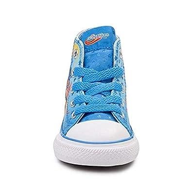 46994f3ed5e50e Converse Youth Chuck Taylor All Star Hi Superhero Girls Sneaker Italy Blue  White Red