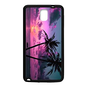Happy The Sunrise In Beach Cell Phone Case for Samsung Galaxy Note3