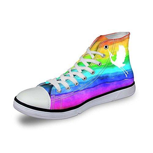 Color Pantofole a Donna Coloranimal Stivaletto 8 Rainbow TXRawq