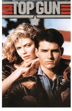 (Top Gun Movie Tom Cruise and Kelly McGillis 80s Poster Print - 11x17)