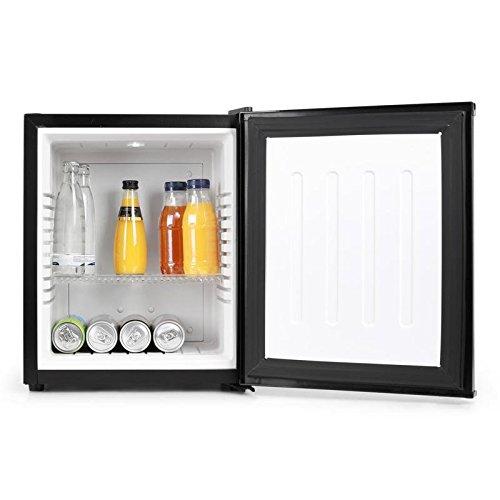 Klarstein 10005399 Mini-Kühlschrank / B / 169 kWh/Jahr / 47 cm / 24 Liter Kühlteil / Minibar / schwarz