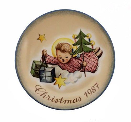 Schmid Hummel Christmas Plate - Schmid