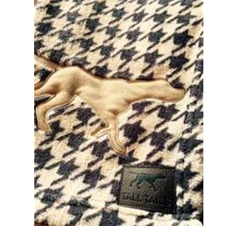 40 x 60 in. Tall Tails 88213837 Fleece Throw Dog Blanket44; Houndstooth