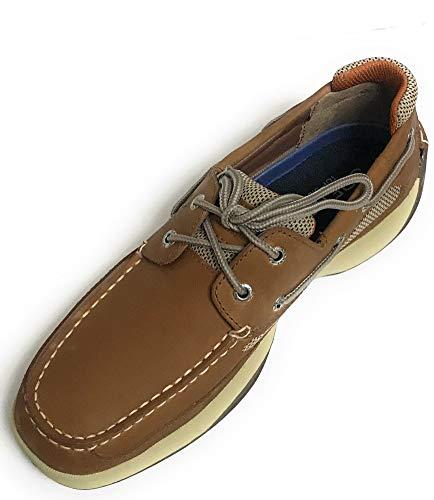 - Sperry Lanyard 2-Eye Boat Shoe,Dark Tan/Orange,9 M US