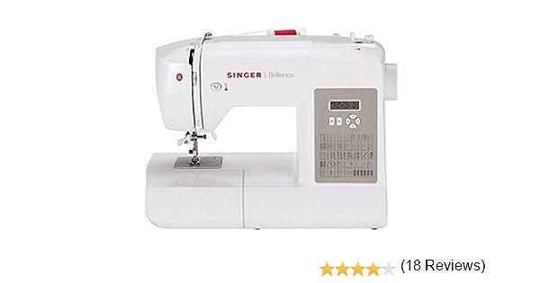 SINGER Brilliance 6180 Computerised sewing machine - Máquina de ...