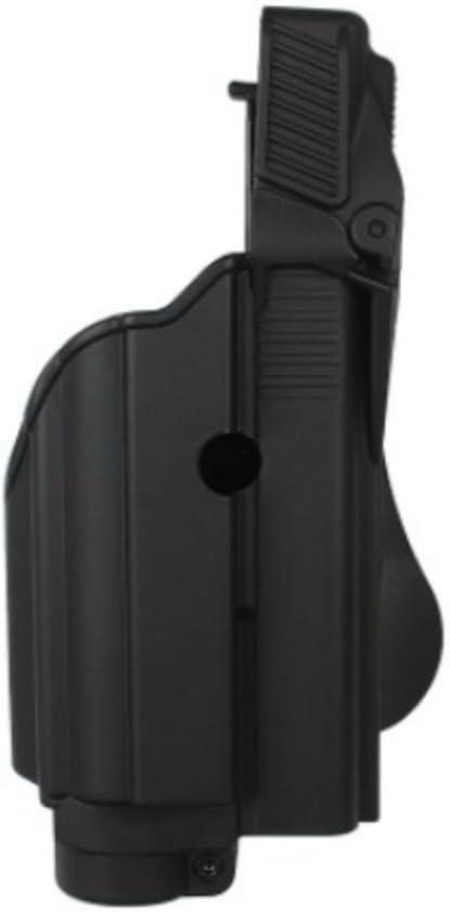 IMI Defense Pistola Glock 17/19/22/23/25/31Retención Tactical Holster Luz Laser Gen 4Compatibles