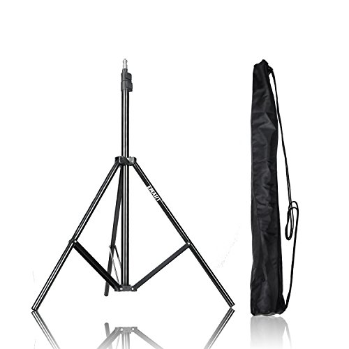 (Emart 83 inch/7feet/210cm Photography Photo Studio Light Stand for Video Lighting, Softbox, Umbrella, Ring Light, Camera, Flash, Carry Case Include)