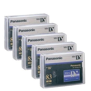 Panasonic AY DVM83PQ - Professional Quality - Mini DV tape -