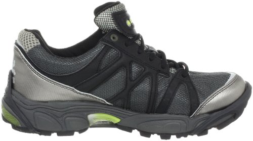 ATTLA-L BUGweb B1504-8C, Damen Sportschuhe - Running, Grau (Carbon/Black C), EU 41 (UK 7) (US 8) Icebug