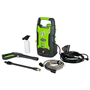 GreenWorks GPW1602 13 amp 1600 PSI 1.2 GPM Electric Pressure Washer