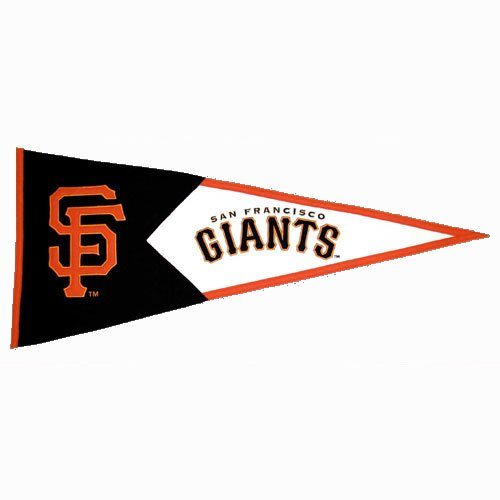 Winning Streak San Fransisco Giants Classic Pennant by Hall of Fame Memorabilia