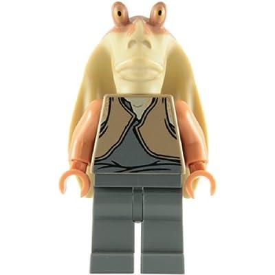 LEGO Star Wars Minifigure - Jar Jar Binks Gungan (2011 Redesign): Toys & Games