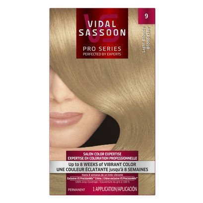 Vid Sas #9 Light Blonde Size 1ct Videl Sasson #9 Light Blonde by Vidal Sassoon