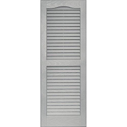 vantage-0114039030-14x39-louver-arch-shutter-pair-030-paintable