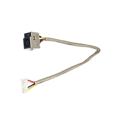 Amazon.com: New Ac Dc-in Power Jack Plug Input Port Wire ... on