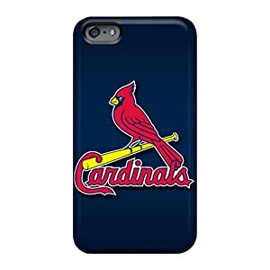 AshtonWells Apple Iphone 6 Protective Hard Phone Covers Support Personal Customs Attractive St. Louis Cardinals Pattern [sFr14103bsHX]