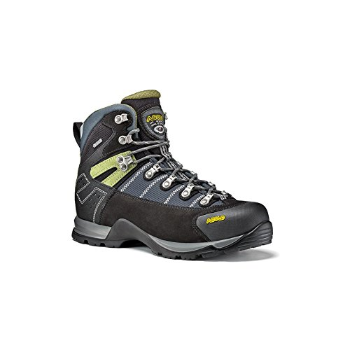 Asolo Fugitive GTX Walking Boots UK 10 Black Nero Gunmetal - Asolo Fugitive Gtx