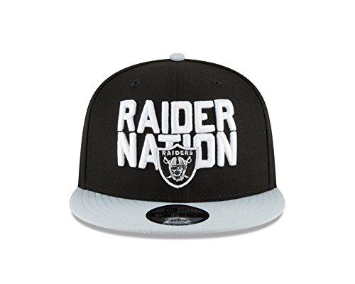 New Era Oakland Raiders 2018 NFL Draft Spotlight Snapback 9Fifty Adjustable ()