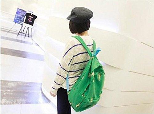PHILNA12tela OK gesti zaino a tracolla bag-green