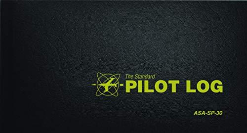 The Standard Pilot Log (Black): ASA-SP-30 (Standard Pilot Logbooks) Hardcover – September 1, 2012