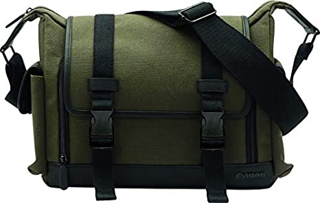 Gris C/ámara Compactas Evecase Bolsa Protectora Bandolera para C/ámara R/éflex Digital SLR de Nikon DSLR Fotograf/ía Canon