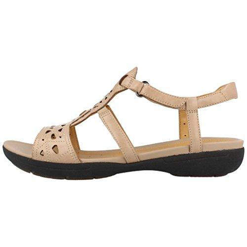 Sandalias y chanclas para mujer, color Beige , marca CLARKS, modelo Sandalias Y Chanclas Para Mujer CLARKS UN VALENCIA Beige Beige