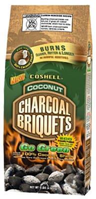 Coshell Holdings COSR09 Instant Light Green Charcoal Briquets, 9-Lb.