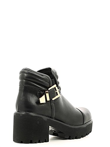 36 Leather Fornarina Womens Boots Black EU Ankle qxtUFw6