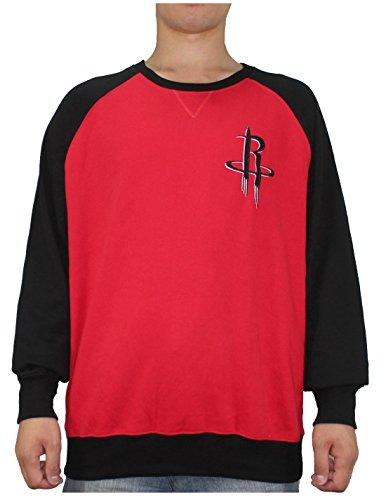 NBA Mens HOUSTON ROCKETS: Athletic Pullover Sweatshirt XL Multicolor by NBA