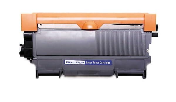 ink68 Compatible TN450 negro cartucho de tóner, Brother DCP ...