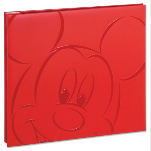 Embossed Mickey Postbound Album (Red Mickey 8.5 X 8.5 Album)