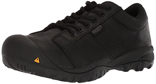 KEEN Utility Men's La Conner ESD Industrial Shoe, Black, 10.5 D US