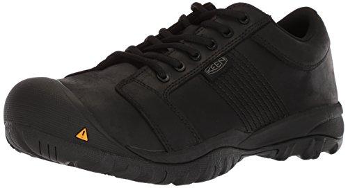 KEEN Utility Men's La Conner ESD Industrial Shoe, Black, 10 D US ()